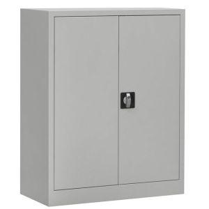 Welltrade tweedeurskast aluminium (2dkni17)