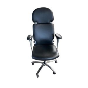 Comforto type 77 Bureaustoel leer 4D armleggers (bs816L)