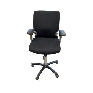 Comforto 77 bureaustoel hoge gasveer nieuwe stoffering (bs530)