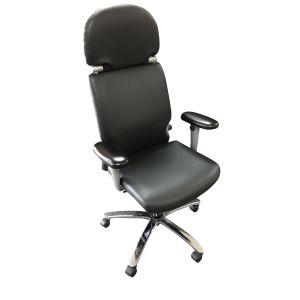 Comforto type 77 bureaustoel kunstleder nieuw bekleed (bs821)