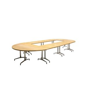 Welltrade vergadertafel met uitsparing (vt54)