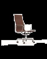 Vitra EA119 lederen bureaustoel (bs952)