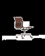Vitra EA117 lederen bureaustoel (bs930)